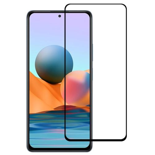 Full Glue Full Cover Screen Protector Tempered Glass Film for Xiaomi Redmi Note 10 Pro